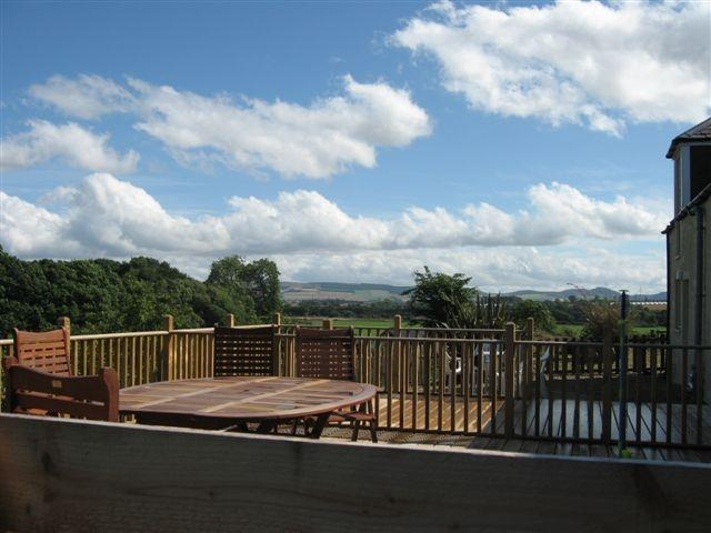 The Hayloft Decking South Littleton